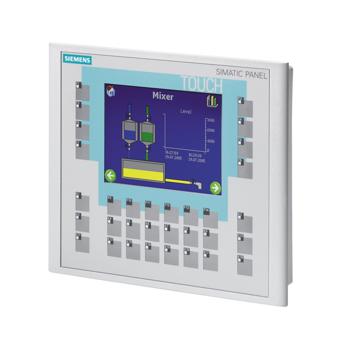 SIMATIC OP177B 6&quot, DPBLUE MODE STN DISPLAY TOUCH AND KEYS - 6AV6642-0DC01-1AX1