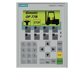 SIMATIC OPERATOR PANEL OP77B BACKLIT LC DISPLAY, 4.5&quot, - 6AV6641-0CA01-0AX1