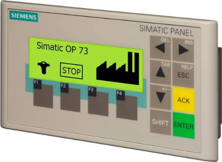 SIMATIC OPERATOR PANEL OP 73 3&quot, LC DISPLAY - 6AV6641-0AA11-0AX0