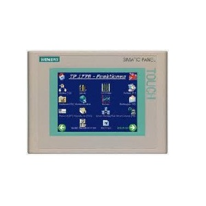SIMATIC TP177B 6&quot, DPBLUE MODE STN-DISPLAY - 6AV6642-0BC01-1AX1