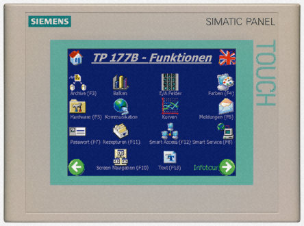 SIMATIC TP177B 6&quot, PN/DPSTN 265 COLOR DISPLAY - 6AV6642-0BA01-1AX1