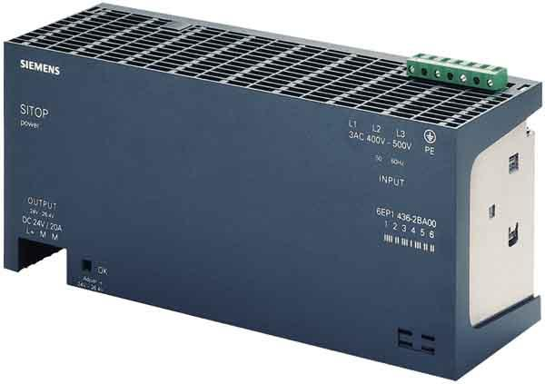 SITOP POWER 20A STABILIZED POWER - 6EP1336-2BA00