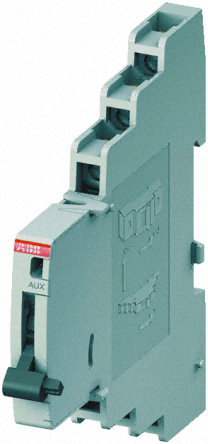 MCB, auxiliary contact, 2C/O, change over, signal contact, 9mm, DIN rail, left mounting, S800