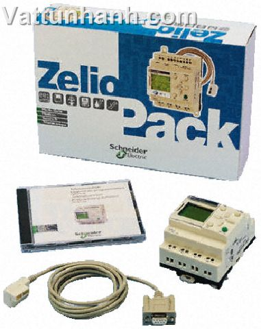 PLC,logic module,zelio,starter kit,20 i/o module,software,cable,24Vdc