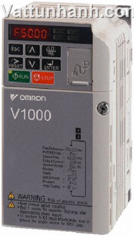 Motor drive,inverter,V1000,0.12kW,single phase,200Vac,VZAB0P1BAA