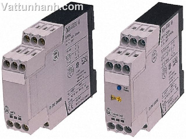 Relay, overload, thermistor, 24-240Vac 50/60Hz, 24-240Vdc, c/w auto/man reset, mains, fault LED
