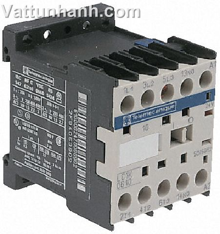 3P CONTACTOR 6A AC3 2.2KW 110VDC COIL