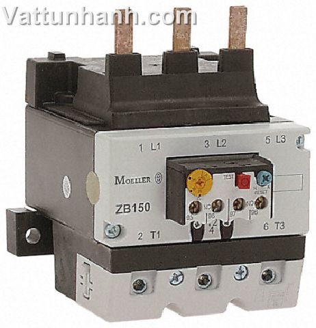 relays, overload, 95-125A, ZB150