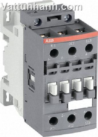 Contactor, 3 pole, 3 N/O, 18.5kW, 12-20Vdc coil
