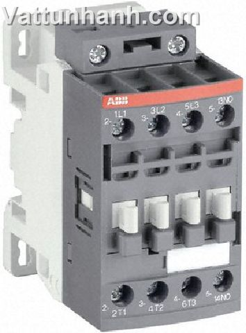 Contactor, 3 pole, 3 N/O, 4kW, 1 N/C aux, 12-20Vdc coil