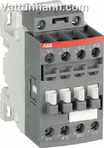 Contactor, 4 pole, 4 N/O, 7.5kW, 100-250Vac/dc coil