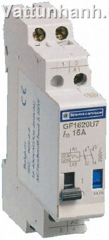 Relay, impulse, 230/240V, 1 N/O 1 N/C