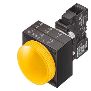 Siemens 22MM PLASTIC ROUND COMPLETE UNIT COMBINATION: