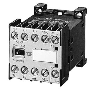 Siemens CONTACTOR SIZE 00 3-POLE AC-3 4KW/400VSOLDER-PIN